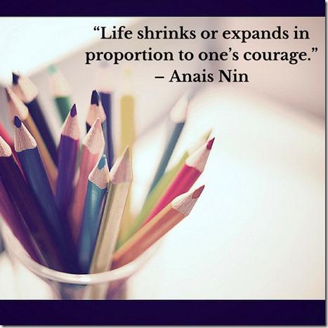 Life expands