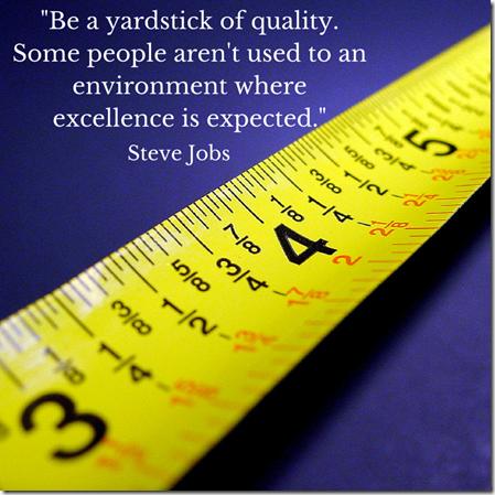 Yardstick of Excellence