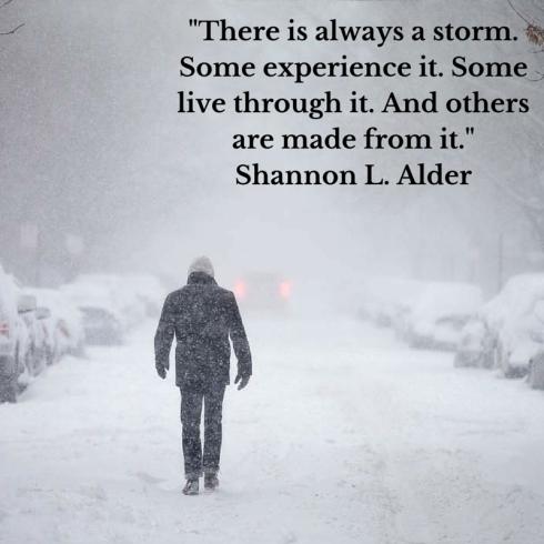 Always a storm